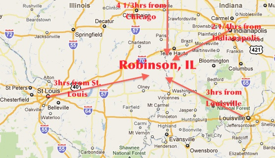 Robinson IL routes1 75 Years for Recording Public Officials On Duty!?