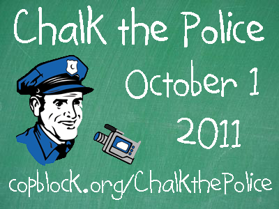 chalk the police url Tomorrow is National Chalk the Police Day!