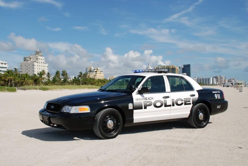 Miami Beach Police Officer Salrys