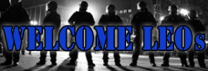 Active LEO's are encouraged to visit the welcome LEO's page, click graphic above