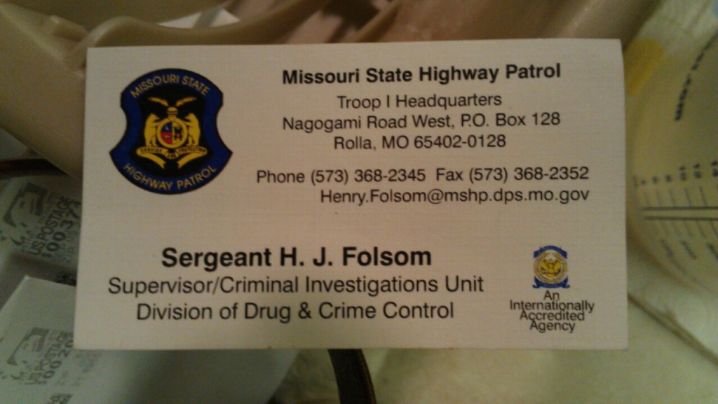 henry-folsom-missouri-state-highway-patrol-business-card