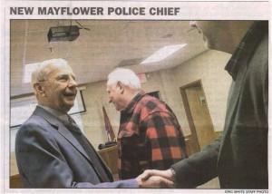Mayflower Chief of Police Robert M Satkowski