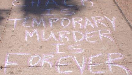 Chalk Is Temporary