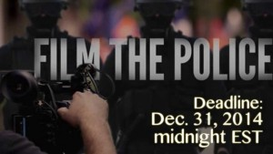 Video Contest - #WhyIFilmThePolice