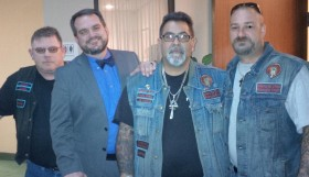 Stephen Stubbs with Bikers for Christ