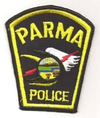 Parma police badge