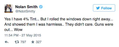 Nolan Smith Police Tweet 2