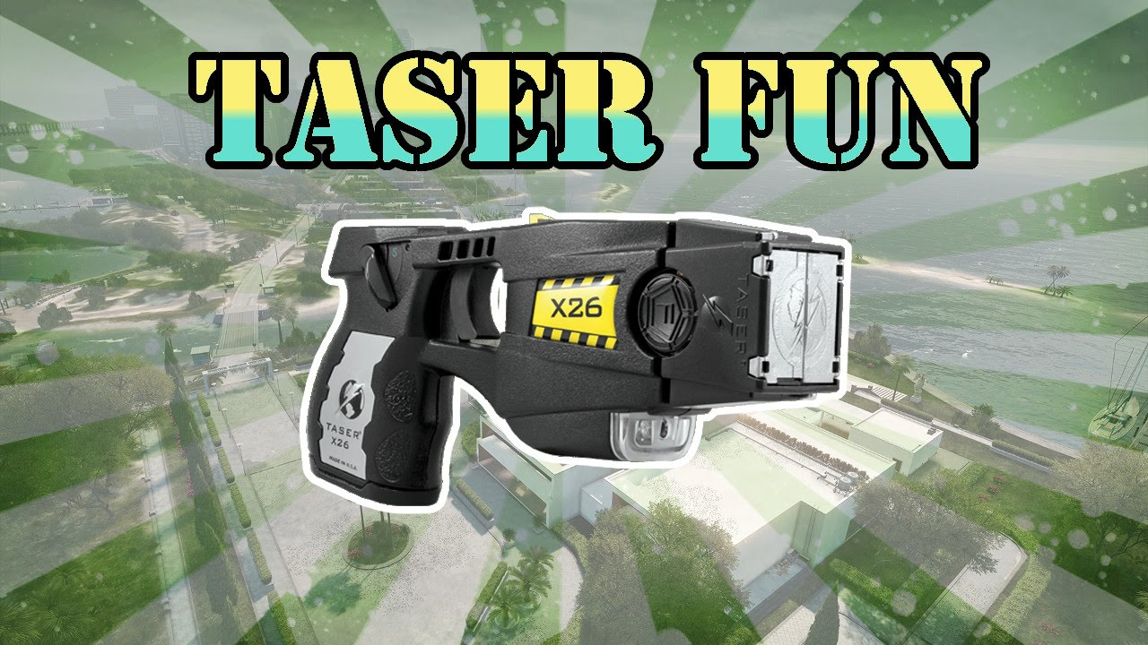 Police Taser Fun