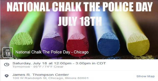 Chalk Police State Chicago