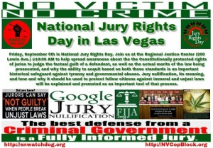 National Jury Rights Day is September 5th. Don't forget to fully inform the potential jurors in your community.