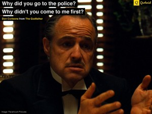 GodFather vs Police