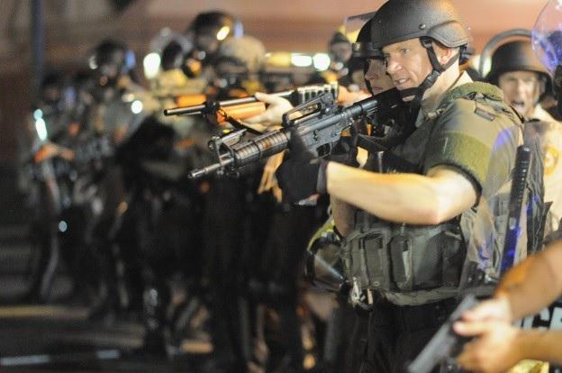 Riot Police Ferguson 2014