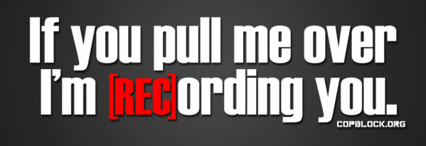click banner to learn more about recording police