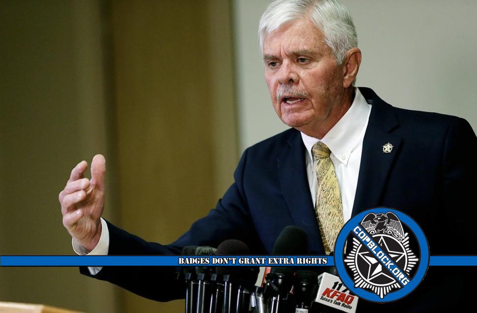 Tulsa Sheriff Stanley Glanz