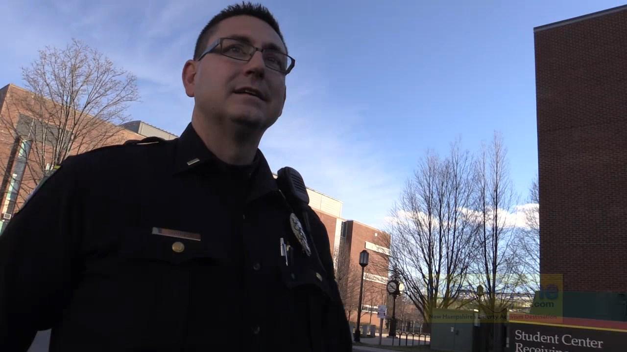 Keene Police Officer Jason Short