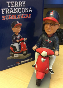 Indians Manager Terry Francona Bobblehead
