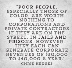 Prison Profits Poor People