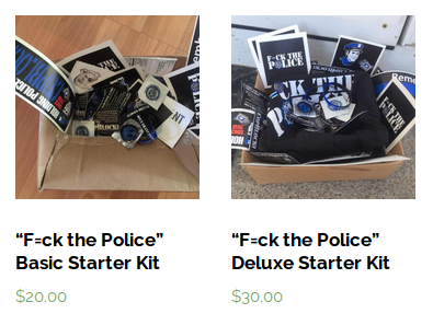 f-ck the police basic deluxe starter kit copblock