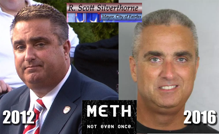 Fairfax Mayor Scott Silverthorne Meth Bust
