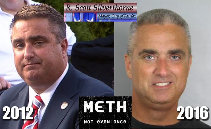 Fairfax Mayor Scott Silverthorne Meth Bust