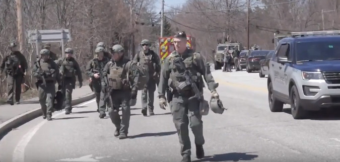 Militarized Police in Keene, NH