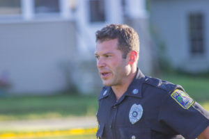 Keene Police Officer Joshua English